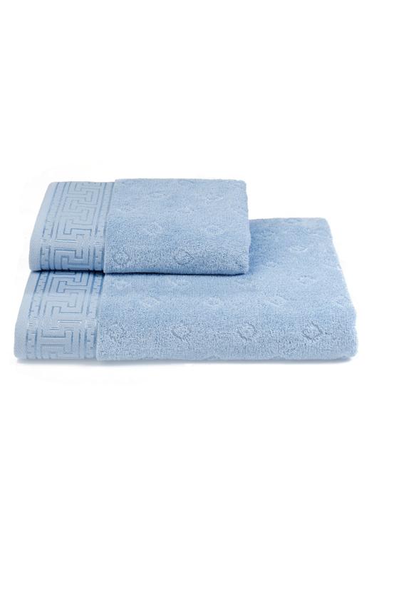 Soft Cotton Osuška VERA 75x150 cm. Měkké na pokožce a vysoce absorpční, to jsou vlastnosti osušek VERA z kolekce SOFT COTTON. Světle modrá
