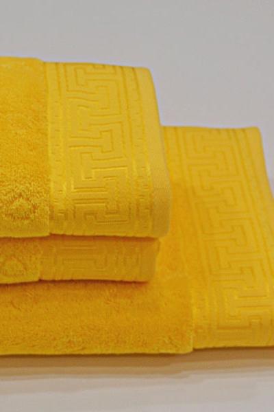 Ručník VERA 50x100 cm Žlutá