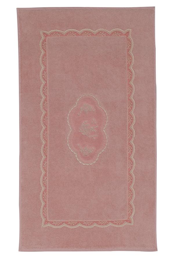 Soft Cotton Koupelnová předložka BUKET. Koupelnová předložka BUKET v rozměru 50 x 90 cm, vyrobená z kvalitní 100% česané egejské bavlny je elegantní v každém okamžiku. Starorůžová