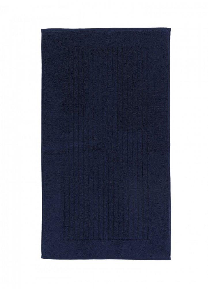 Soft Cotton Koupelnová předložka LOFT 50x90 cm. Rozměry předložek LOFT jsou 50 x 90 cm a jsou vyrobeny z bavlny ze 100% česané bavlny rich soft o gramáži 950 g/m2. Tmavě modrá