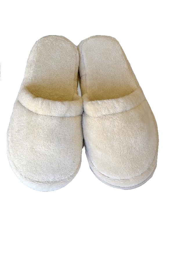 Soft Cotton Unisex pantofle COMFORT. Froté unisex pantofle COMFORT s gumovou podrážkou, ve velikostech 26cm a 28cm. 26 cm (vel.36/38) Béžová