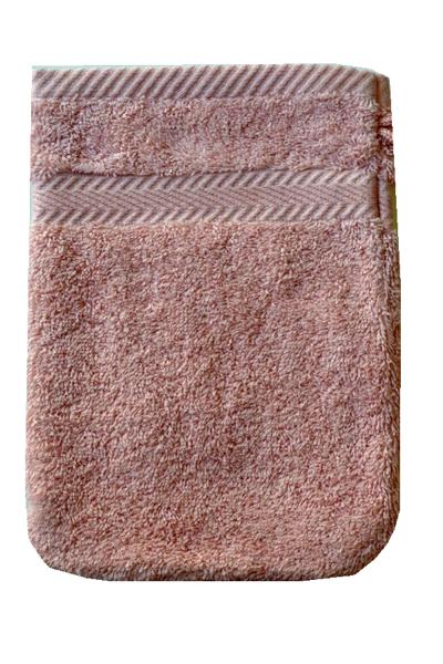 Soft Cotton Mycí froté žínka SOFT 16x22 cm. Luxusní mycí žínka ze 100% česané egejské bavlny Vám zpříjemní Vaši bublinkovou koupel svým hebkým sametovým vzhledem. Starorůžová