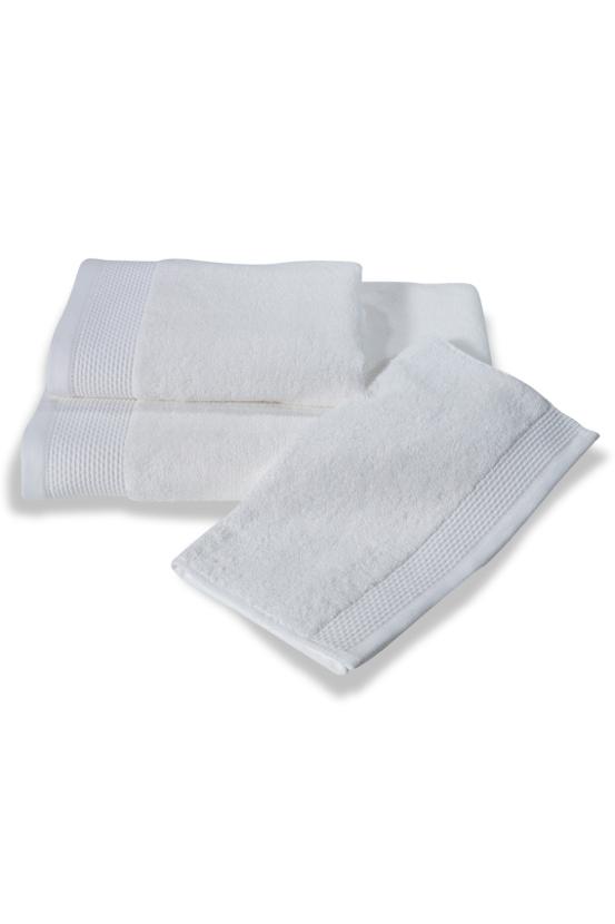 Soft Cotton Bambusová osuška BAMBOO 85x150 cm. Bambusové osušky BAMBOO mají přirozené antibakteriální vlastnosti, odolávají bakteriím a plísním a jsou ideální pro každodenní použití i do sauny. Bílá