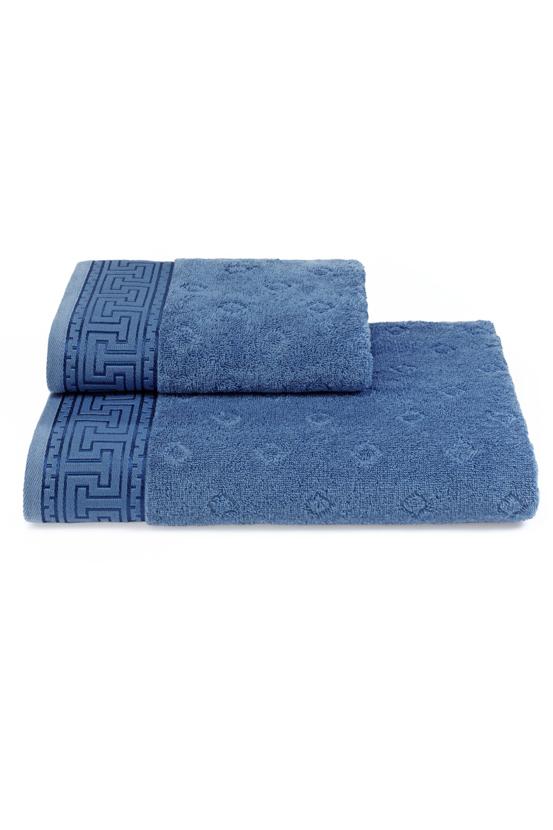 Soft Cotton Osuška VERA 75x150 cm. Měkké na pokožce a vysoce absorpční, to jsou vlastnosti osušek VERA z kolekce SOFT COTTON. Modrá