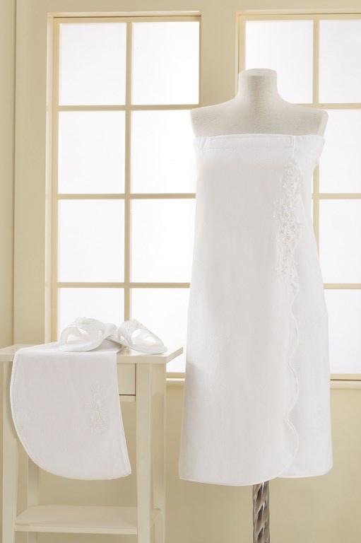 Soft Cotton Dámský bambusový SAUNA set MASAL v dárkovém balení, velmi jemný a savý + turban zdarma. Tato luxusní sada, vyrobená z bambusového vlákna a bavlny v poměru 40 % : 60 %, se výborně hodí pro citlivou pokožku a také pro alergiky. Univerzální velik