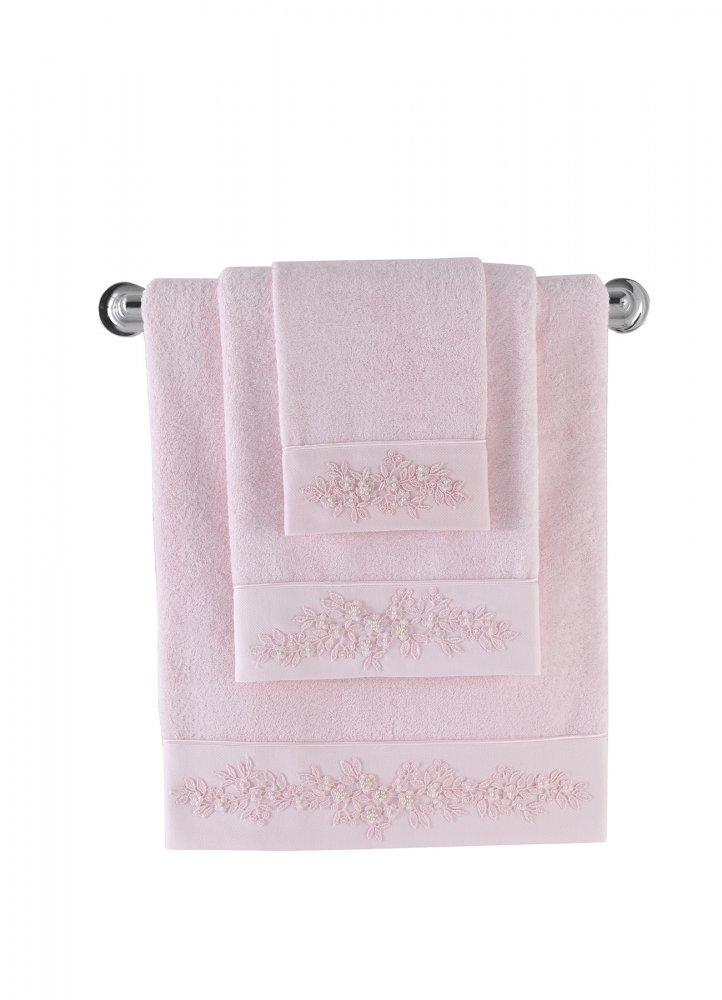 Soft Cotton Malý bambusový ručník MASAL 32x50cm. Bambusový malý ručník MASAL 32 x 50 cm, vyrobený z bambusového vlákna 60% a česané bavlna 40%, přirozeně aktibakteriální, vhodný pro alergiky. Růžová