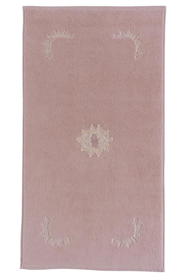 Soft Cotton Koupelnová předložka DESTAN. Froté koupelnová předložka DESTAN 50 x 90 cm. Froté koupelnová předložka ve francouzském stylu a v rozměru 50 x 90 cm. Starorůžová