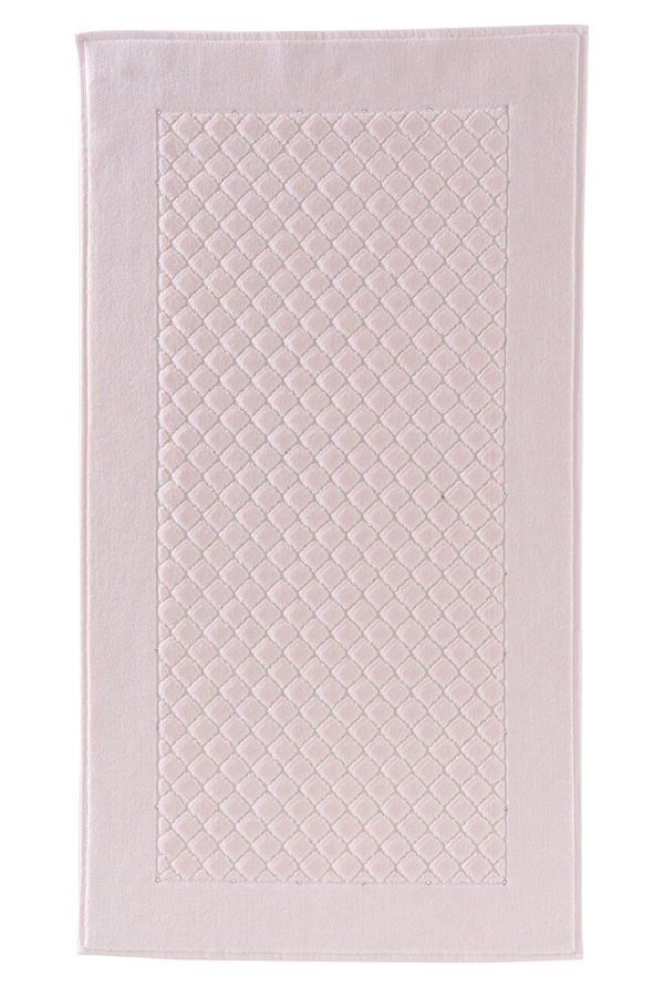 Soft Cotton Koupelnová předložka MAIA Crystal Swarovski 50x90 cm. Luxusní froté koupelnová předložka MAIA Yildiz Crystal Swarovski 50x90 cm. Svými vlastnostmi jako je měkkost, hebkost Vás zaujme na první pohled. Růžová