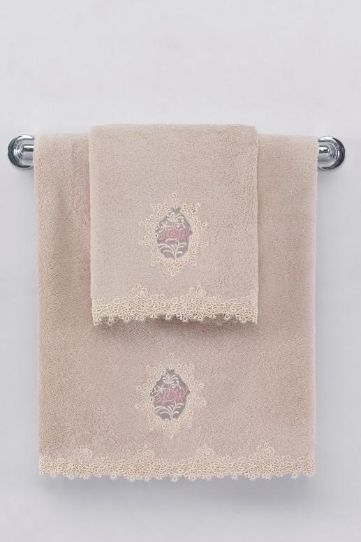 Malý ručník DESTAN 32x50cm Starorůžová