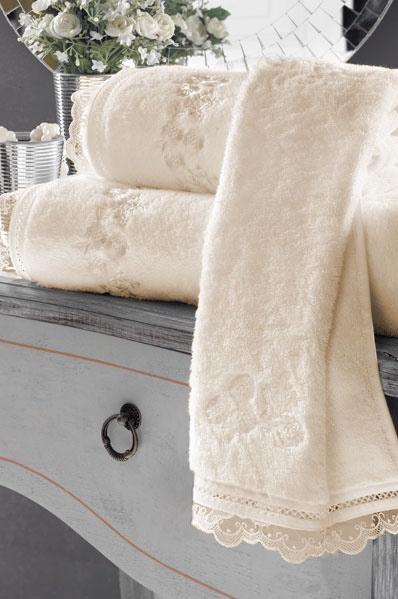 Soft Cotton Luxusní osuška LUNA 85x150 cm. Froté osuška LUNA překvapí nejen tím, jak dobře saje vlhkost a příjemně hřeje, ale že je k pokožce zároveň velmi šetrná. Smetanová