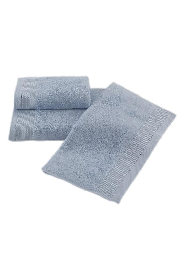 Soft Cotton Bambusová osuška BAMBOO 85x150 cm. Bambusové osušky BAMBOO mají přirozené antibakteriální vlastnosti, odolávají bakteriím a plísním a jsou ideální pro každodenní použití i do sauny. Světle modrá